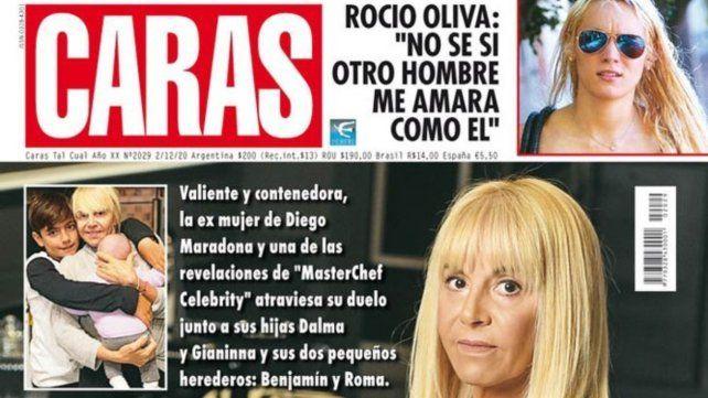 Claudia Villafañe dio su primera entrevista tras la muerte de Diego Maradona.