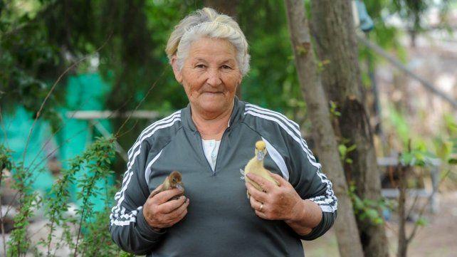 Cristina Díaz tiene 70 años.