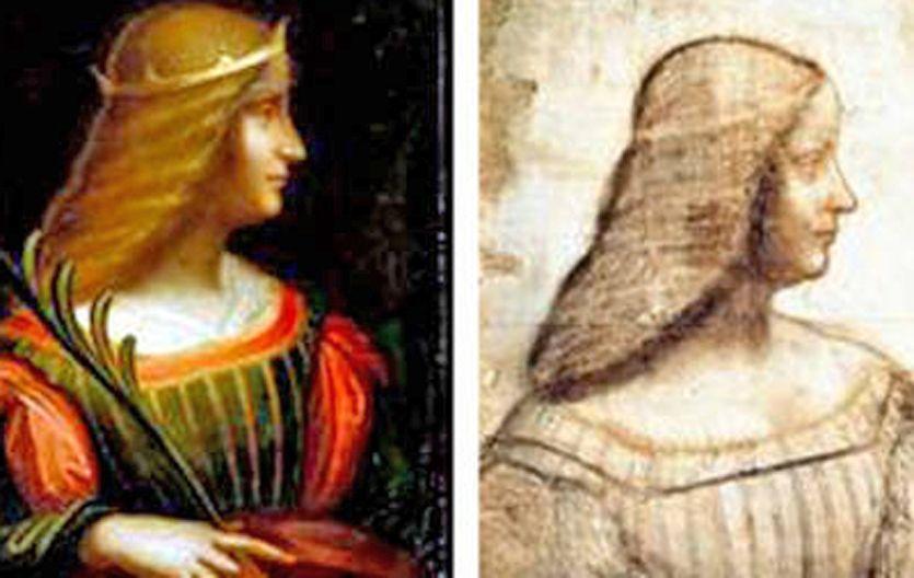 Único. El óleo pintado en 1460 y un dibujo realizado 15 años antes.