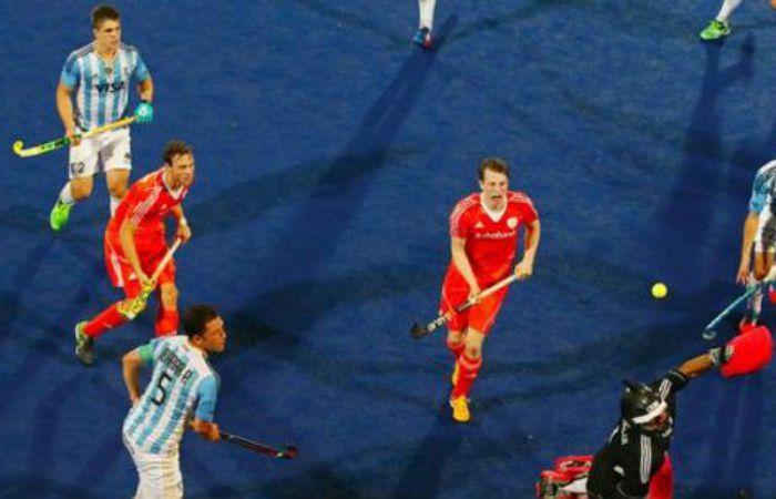 El equipo de Carlos Retegui levanto en el complemento pero no alcanzó.