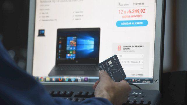 E-commerce. Las transacciones crecieron