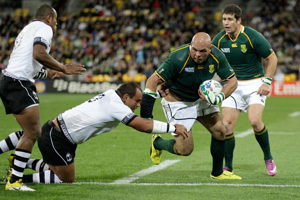 Trámite para Sudáfrica: le ganó 49 a 3 a Fiji