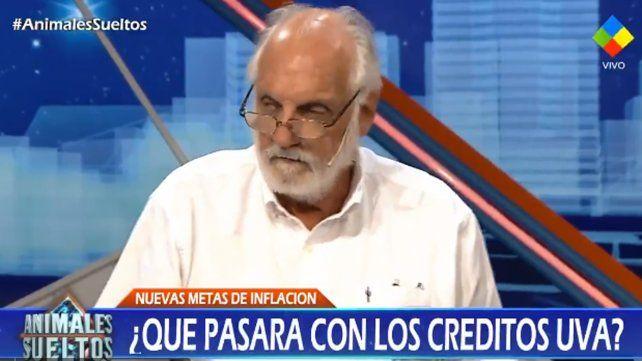 La meta de inflación tenía niveles ridículos, dijo Juan Carlos de Pablo