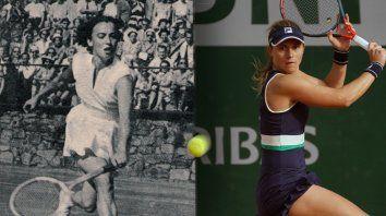 Pasado y presente. Con las historias de Mary Terán y Nadia Podoroska converge también la historia del tenis rosarino. Nadie llegó tan lejos como ellas.