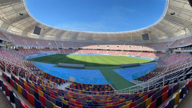 El imponente estadio Madre de Ciudades
