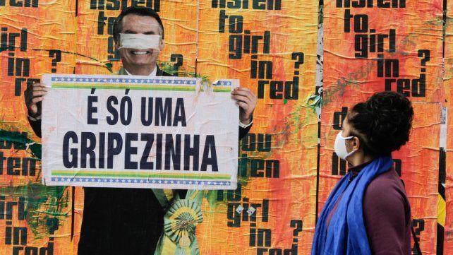 Brasil bajó a un promedio de casi 500 fallecimientos diarios