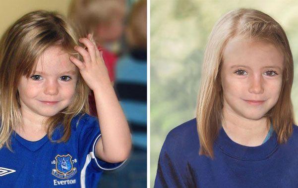 Maddie. La niña desapareció de un hotel hace seis años
