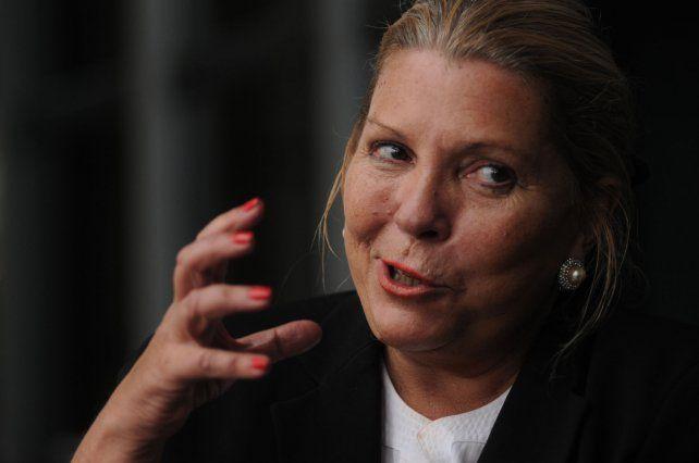 Carrió pidió declaraciones de bienes a jueces de la Corte Suprema
