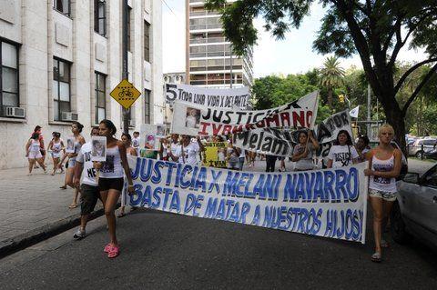 Una marcha que pidió esclarecer el crimen de Melanie
