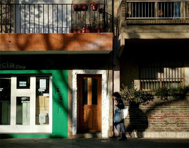 El robo sucedió en un consultorio de Urquiza al 2300. (Foto: Celina Mutti Lovera)