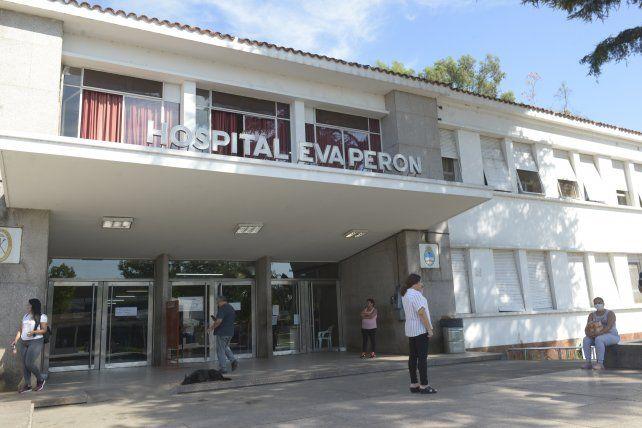 El Hospital Eva Perón tiene todas las camas críticas ocupadas