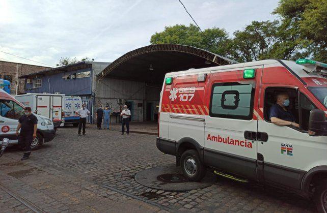 Los trabajadores del Sies señalaron que son siete las ambulancias que están en servicio