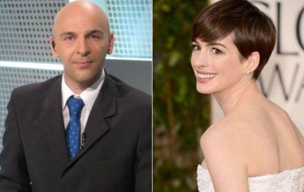 La actriz se negó a darle la mano al periodista Alexis Puig.