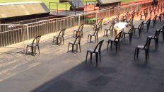 El Coloso está preparado para la asamblea con distancia social.