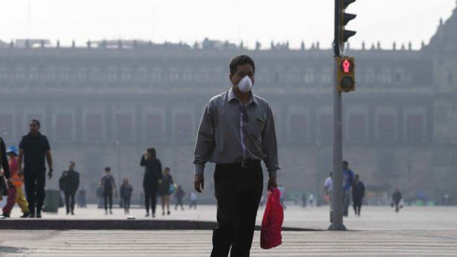 Ciudad de México. La capital azteca es una de las más contaminadas.