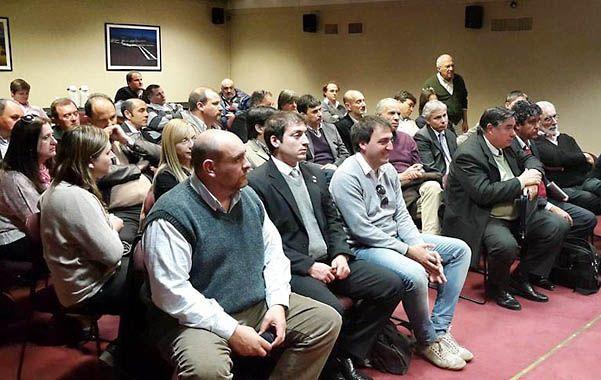 Respuesta. Battista reivindicó la reunión en Enargás por gasoducto en la ruta 90.