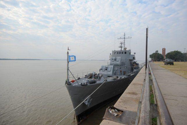El histórico buque patrullero ARA King