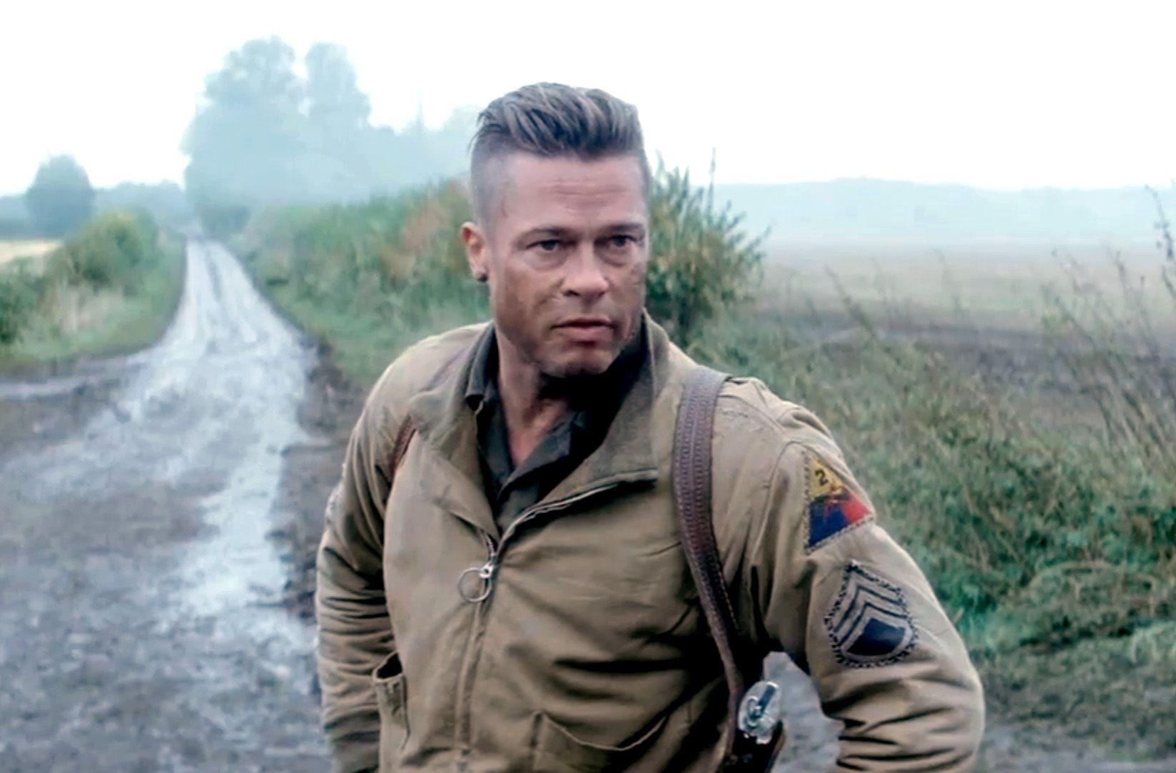 Líder. Brad Pitt interpreta a Don Wardaddy Collier