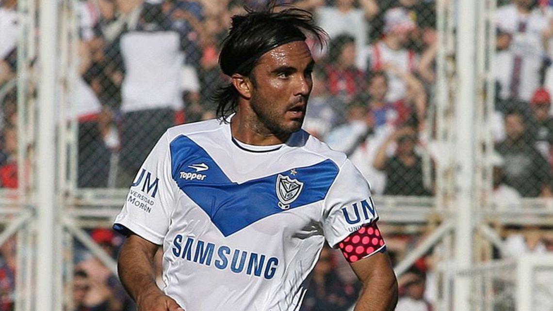 El capitán velezano Fabián Cubero