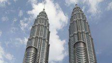 Imponentes. Las Torres Petronas en la capital de Malasia.