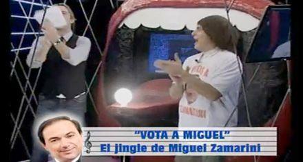 Bótelos presentó el nuevo jingle de campaña de Miguel Zamarini