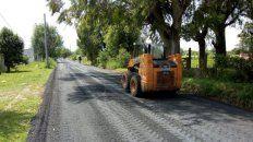 Los trabajos forman parte de un plan de obras mayor que busca erradicar las calles de tierra.