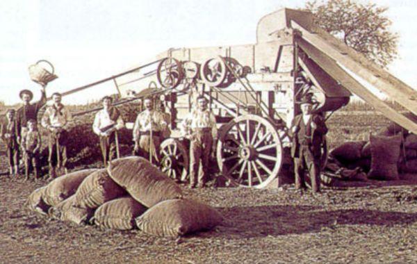La expansión de la producción triguera en Santa Fe se potenció con la llegada masiva de inmigrantes que conformaron las primeras colonias agrícolas.