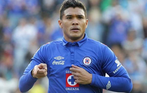 Viene de México. Teófilo Gutiérrez estuvo apenas seis meses en Cruz Azul.