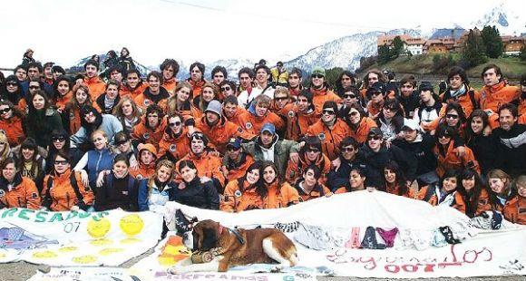 Pese a la ceniza, los estudiantes rosarinos van a poder viajar a Bariloche con total normalidad