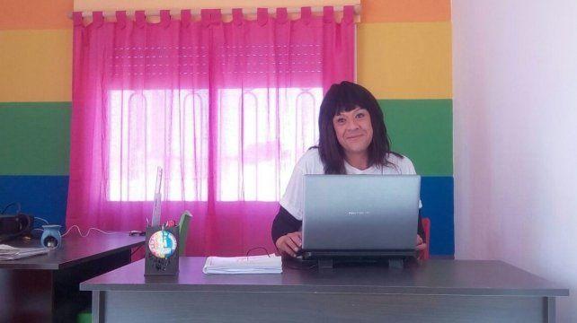 Yuliana Aguilar fue la primera mujer trans del país en ingresar a la administración pública. Fue en Venado Tuerto.