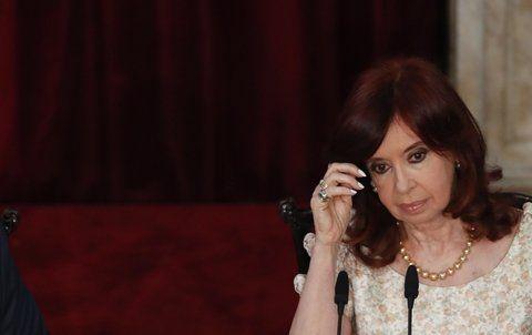 La vicepresidente Cristina Fernández fue acusada de encubrir el atentado a la Amia con el Memorándum con Irán.