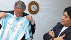 Kirchner y el Diez.