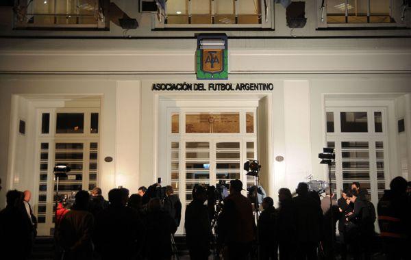 Fuentes de la AFA informaron la decisión tomada esta noche.