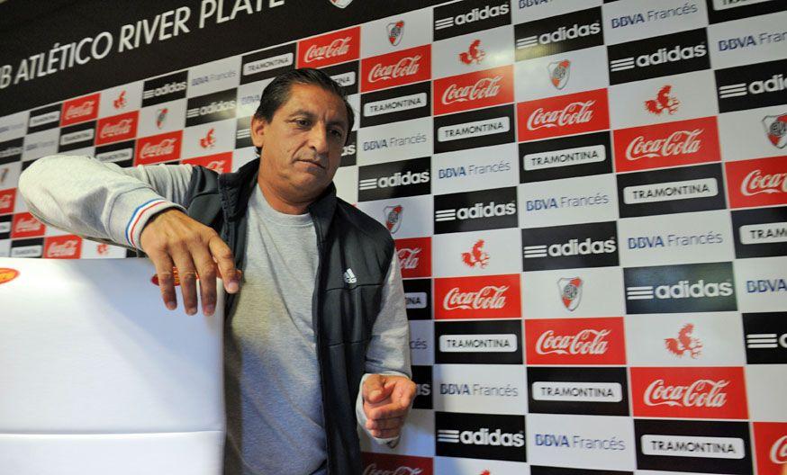 En casa. Ramón Díaz dijo que quiere quedarse mucho tiempo en River.
