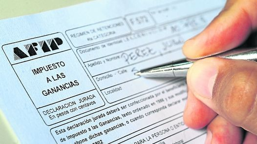 El impuesto a las ganancias es cuetionado por un amplio sector del trabajo y es considerado distorsivo. (Foto de archivo)