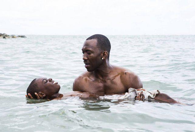 """Una escena de """"Moonlight"""", la multipremiada película de Barry Jenkins que arrasó en los Oscar de 2016."""