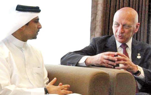 Acuerdo. En mayo de 2012 el gobernador acordó el crédito con Kuwait.