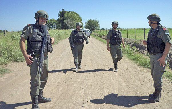 Casi 600 efectivos participan de los operativos en zonas rurales.