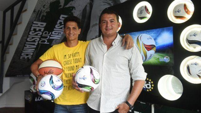 Los Fabris. Ramiro e Iván
