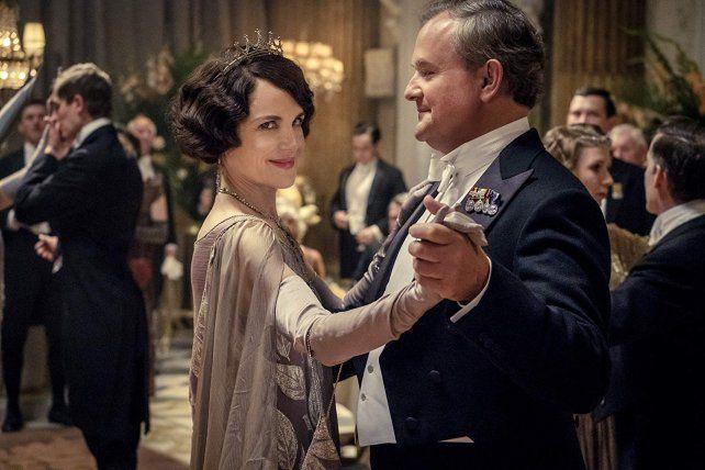 Elizabeth McGovern y Hugh Bonneville interpretan a los líderes de la familia Crawley.