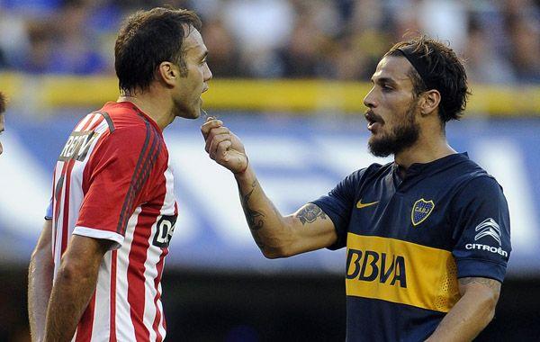 Osvaldo se burla de Desábato y le ofrece pasto de La Bombonera.