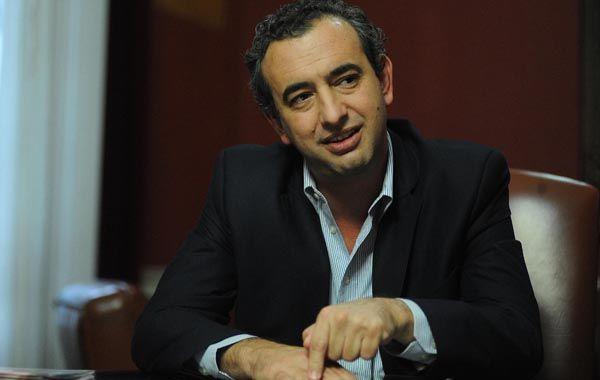 El actual diputado nacional Pablo Javkin