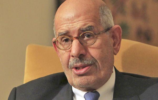 Sin apoyo. El Baradei es una figura de prestigio en los círculos liberales. Los islamistas radicales lo bajaron.