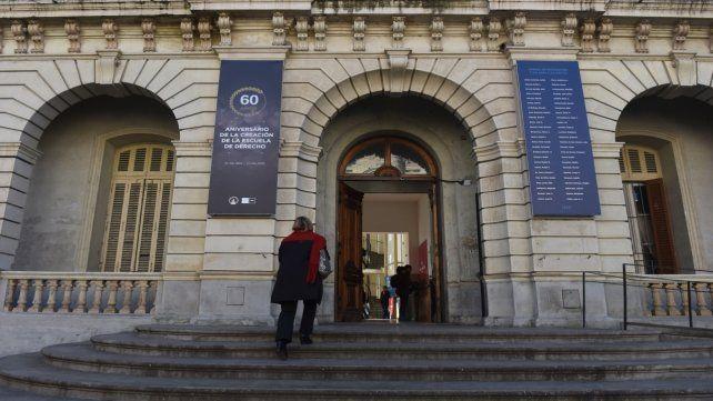 La Facultad de Derecho de la UNR será una de las sedes del encuentro.