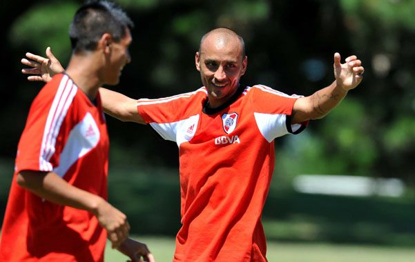 Se quiere quedar. Cristian Ledesma es uno de los preferidos del Pelado Díaz en el armado del nuevo equipo.