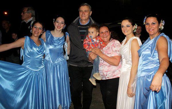 Binner participó del XX Encuentro Nacional e Internacional de Danzas Folklóricas que se realizó en Coronda.