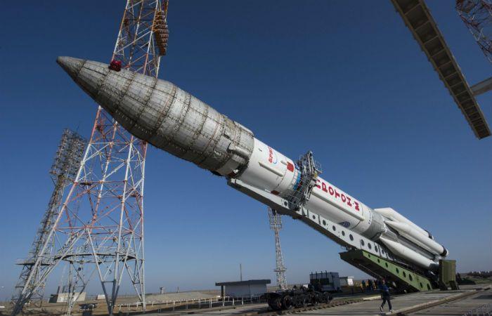 Listo para el despegue. El cohete ruso Protón-M