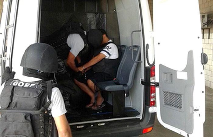 Los líderes de Los Monos fueron trasladados esta mañana desde Piñero a Ezeiza.