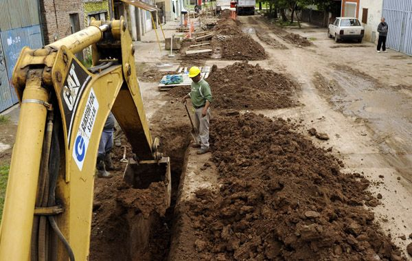 Esperando las obras. El proyecto incluía concretar 11.796 conexiones. (Foto: Celina Mutti Lovera)