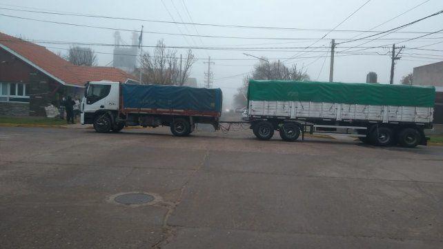 Uno de los camioneros robados